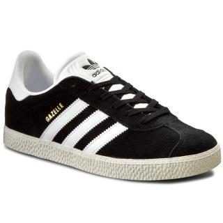 Boty adidas - Gazelle J BB2502 Cblack/Ftwwht/Goldmt dámské Černá 36