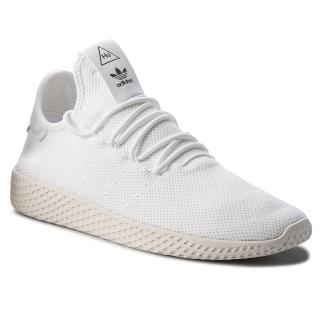 Boty adidas - Pw Tennis Hu B41792 Ftwwht/Ftwwht/Cwhite pánské Bílá 42