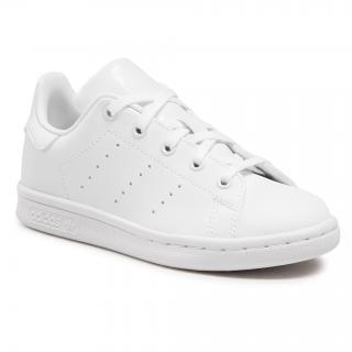 Boty adidas - Stan Smith C FY2675 Ftwwht/Ftwwht/Ftwwht Bílá 28