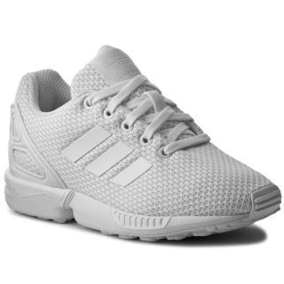 Boty adidas - Zx Flux C S76296  Ftwwht/Ftwwht/Ftwwth Bílá 31