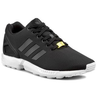 Boty adidas - ZX Flux M19840  Black1/White Černá 36