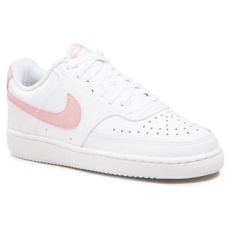 Boty NIKE - Court Vision Low CD5434 110 White/Pink/Glaze dámské Bílá 38