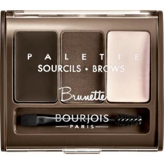 Bourjois Palette Sourcils Brows paleta pro líčení obočí odstín 002 Brunette 4,5 g dámské 4,5 g
