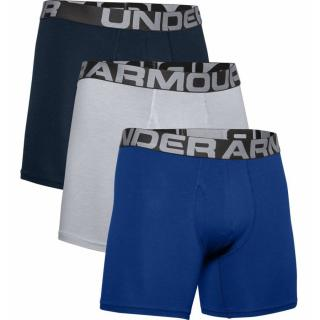 Boxerky Under Armour Charged Cotton 6In 3 Pack  Royal  S S