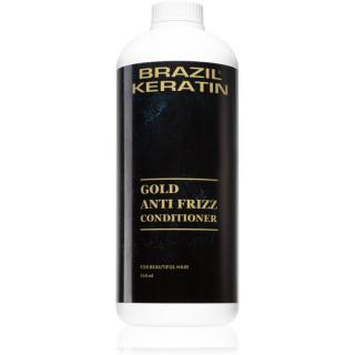Brazil Keratin Gold kondicionér s keratinem pro poškozené vlasy 550 ml dámské 550 ml