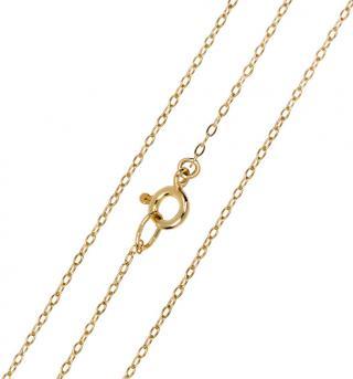 Brilio Elegantní zlatý řetízek Anker 45 cm 271 115 00273