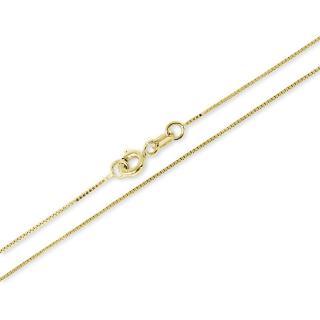 Brilio Luxusní zlatý řetízek 45 cm 271 115 00131