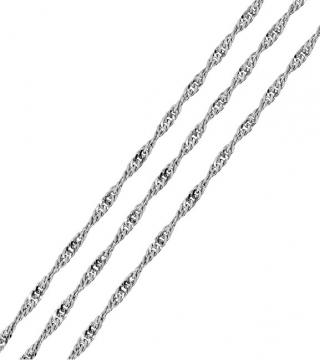 Brilio Silver Stříbrný řetízek Lambáda 45 cm 471 086 00009 04