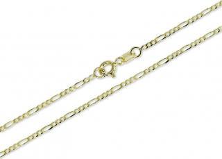 Brilio Zlatý dámský řetízek 45 cm 271 115 00289