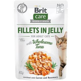 Brit Care Cat Fillets in Jelly with Wholesome Tuna 85 g