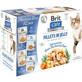 Brit Care Cat Flavour box Fillet in Jelly