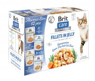 Brit Care Cat Flavour box Fillet in Jelly, 4*3 pcs.
