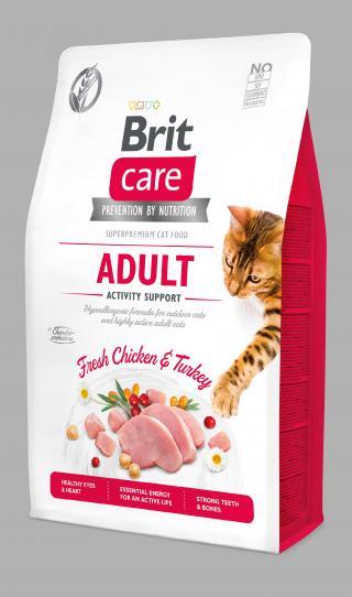Brit Care Cat Grain-Free Adult Activity Support 2kg