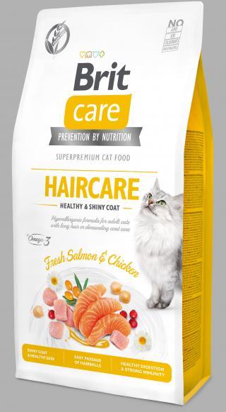 Brit Care Cat Grain-Free Haircare 7kg