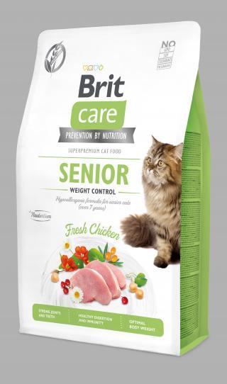 Brit Care Cat Grain-Free Senior 2kg