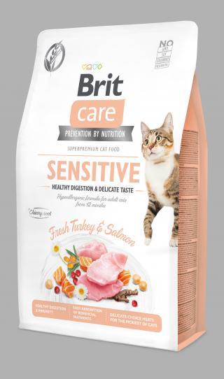 Brit Care Cat Grain-Free Sensitive 2 kg