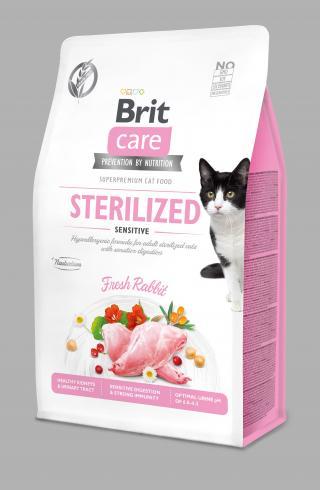 Brit Care Cat Grain-Free Sterilized Sensitive 0,4kg
