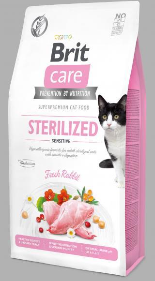 Brit Care Cat Grain-Free Sterilized Sensitive 7kg