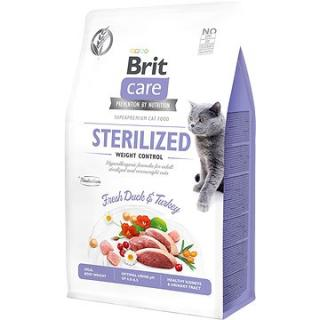 Brit Care Cat Grain-Free Sterilized Weight Control, 0,4 kg