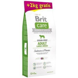 Brit Care Grain-free Adult Large Breed Salmon & Potato 12   2 kg