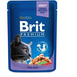 Brit Premium Cat Pouches with Cod Fish 100 g