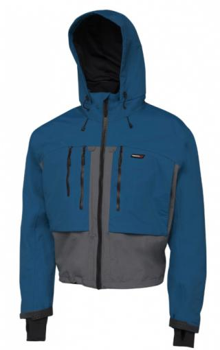 Brodící bunda scierra helmsdale wading jacket seaport blue velikost l