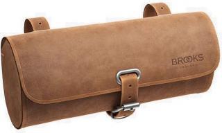 Brooks Challenge 0,5L Saddle Bag Dark Tan Brown