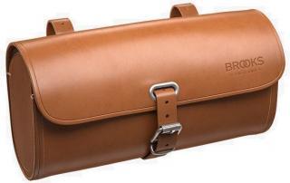 Brooks Challenge 1,2L Saddle Bag Honey Brown