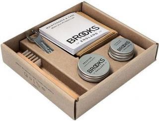 Brooks Premium Leather Saddle Care Kit Brown