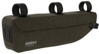 Brooks Scape Frame Bag Mud Green Dark Green