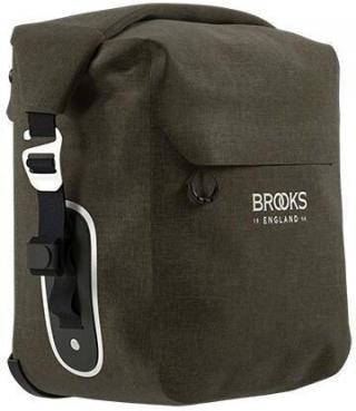 Brooks Scape Pannier Small Mud Green Dark Green