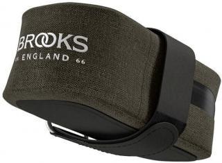 Brooks Scape Saddle Pocket Bag Mud Green Dark Green