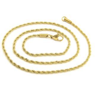 BRUNOshop.cz S1987 Řetízek VALIS GOLD 45/0,2 cm