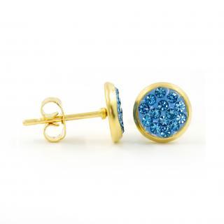 BRUNOshop.cz S3860 Pecky s kamínky BLUE GOLD