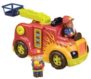 B.TOYS Hasičské auto Fire Flyer mix barev