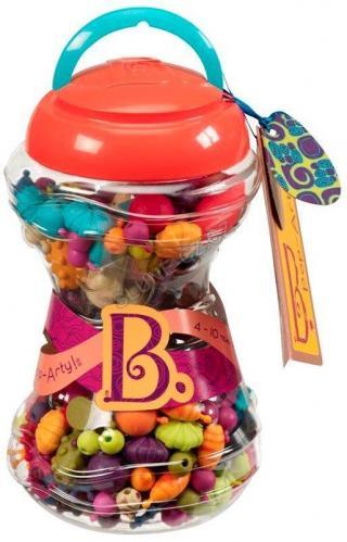 B.TOYS Spojovací korále a tvary Pop Arty 300 ks mix barev