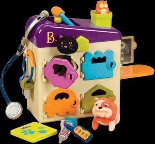 B.TOYS Veterinářský kufřík Pet Vet Clinic mix barev
