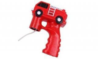 Bublifuková pistole hasičské auto