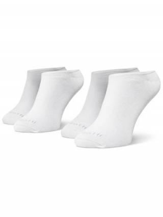 Bugatti Sada 2 párů pánských nízkých ponožek 6916 Bílá 43_46