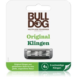Bulldog Original náhradní břity 4 ks pánské 4 ks