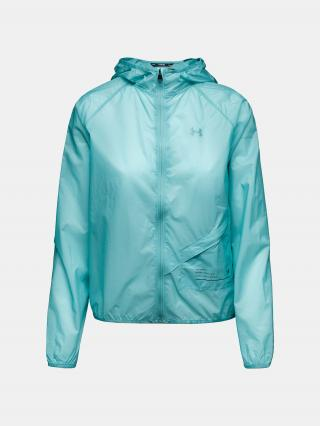 Bunda Under Armour Qualifier Packable Jacket - modrá dámské L