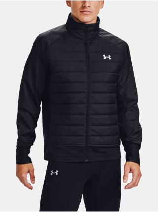 Bunda Under Armour Run Insulate Hybrid Jacket pánské černá L