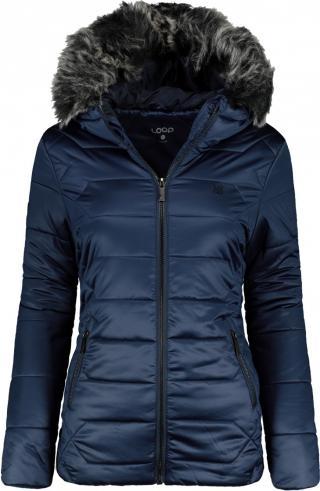 Bunda zimní dámská LOAP TASIA dámské modrá XL