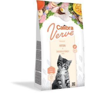 Calibra Cat Verve GF Kitten Chicken&Turkey 750g NEW