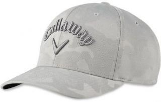 Callaway Camo Snapback Cap Grey UNI