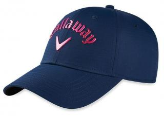 Callaway Liquid Metal Womens Cap Navy/Pink Blue