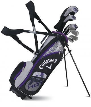 Callaway XJ3 7-piece Junior kompletní golfový set pro dívky levý dámské