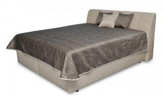 čalouněná postel valencia 180x200 vč. pol. roštu, úp bez matrace béžová