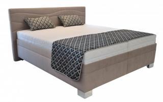 čalouněná postel windsor 180x200, vč. el. roštu, bez matrace béžová