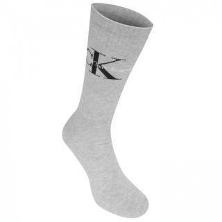 Calvin Klein Calvin Mono Logo Crew Socks pánské Other Mens 7-11